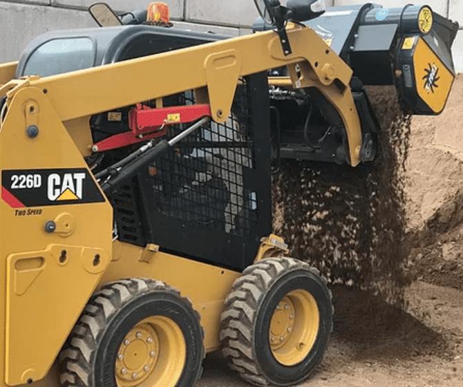 Sorteringsskovl på CAT