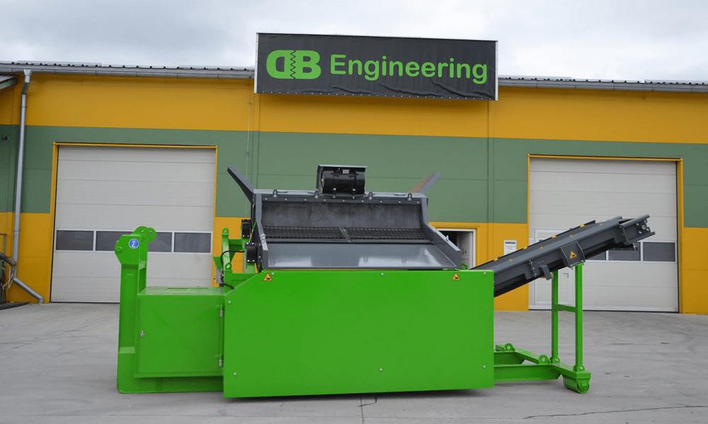 40 XL Traserscreen sorteringsanlæg